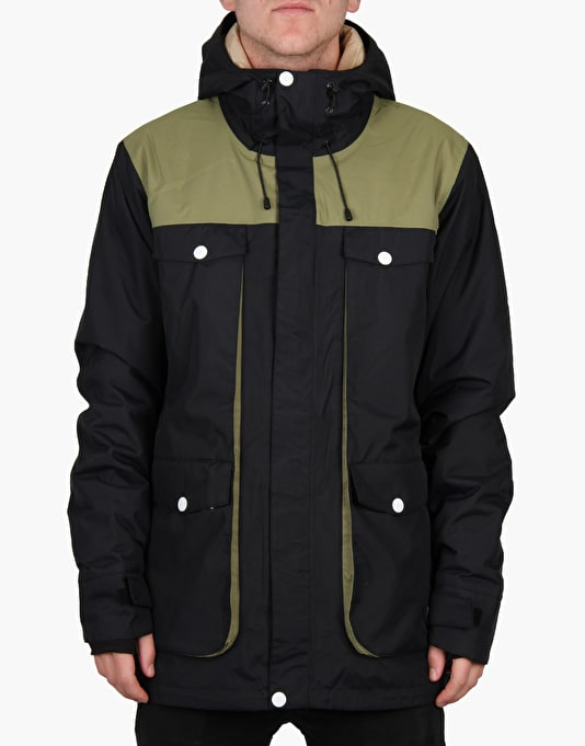 Colour Wear Blow 2016 Snowboard Jacket - Black