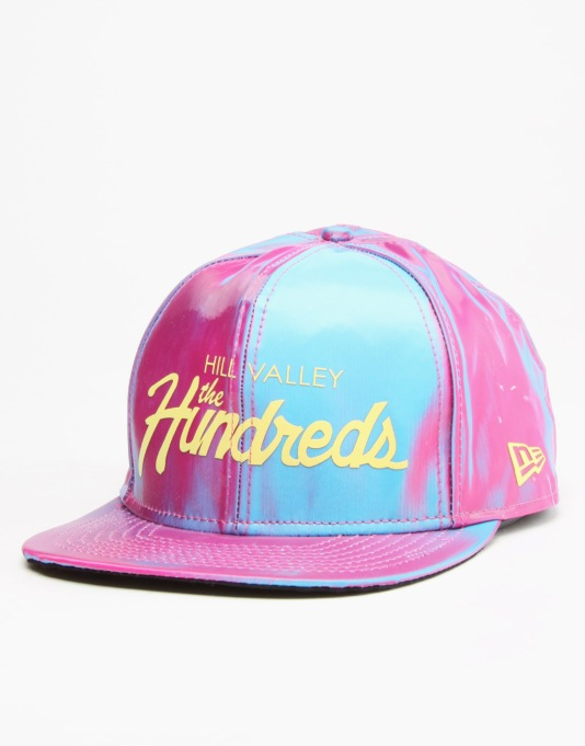 The Hundreds x Back to the Future Iridescent Team Snapback - Multi
