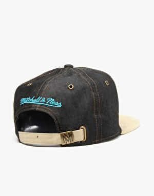 Mitchell & Ness NBA Charlotte Hornets Denarch Snapback Cap - Denim