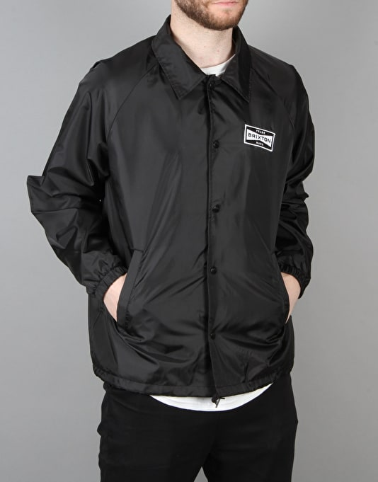 Brixton Ramsey Coach Jacket - Black