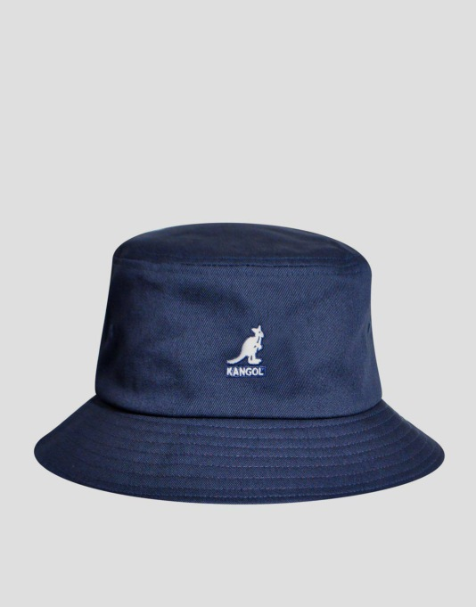 Kangol Nation Bucket Hat - USA Navy