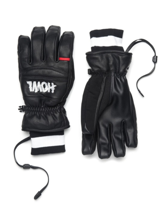 Howl Vintage 2016 Snowboard Gloves - Black