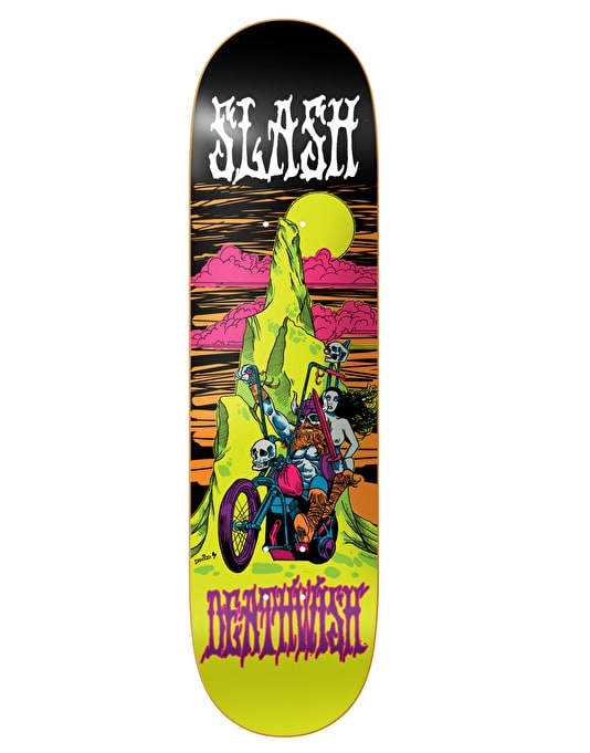 Deathwish Slash Blacklight Pro Deck - 8.38""