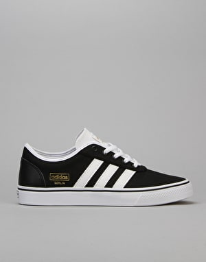 Adidas Adi-Ease Skate Shoes - Core Black/FTWR White/Gold Met