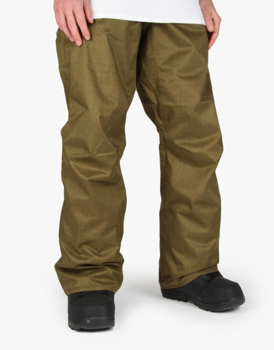 Volcom Carbon 2016 Snowboard Pants - Olive