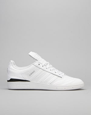 Adidas Busenitz Pro Classified Skate Shoes - White/Black/Silver Met.