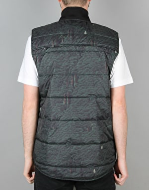 The Hundreds Pack Vest - Olive Trees