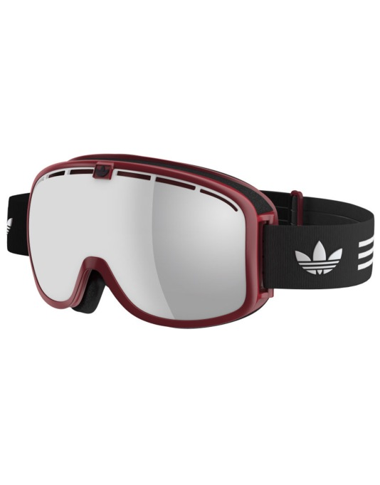 Adidas AH80 2016 Snowboard Goggles - Red Shiny/Black White