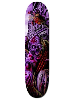 Plan B Joslin Ripping Shred BLK ICE Pro Deck - 8.5