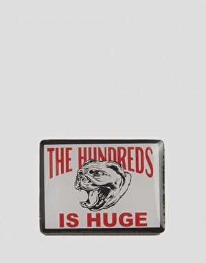 The Hundreds Beware Of Wallace Pin - White