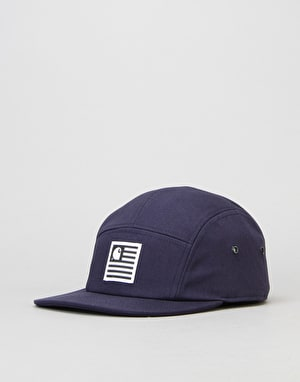 Carhartt State 5 Panel Cap - Navy/White