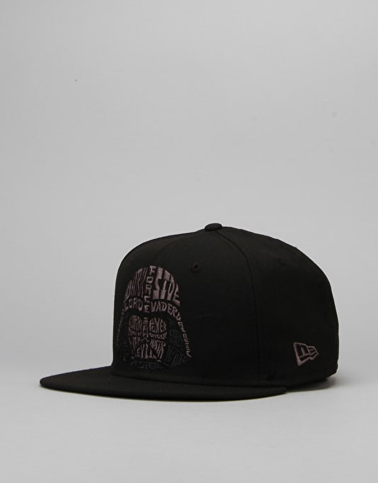 New Era x Star Wars Word Character Snapback Cap - Darth Vader
