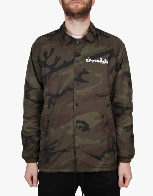 Chocolate Chunk Coach Jacket - Camo