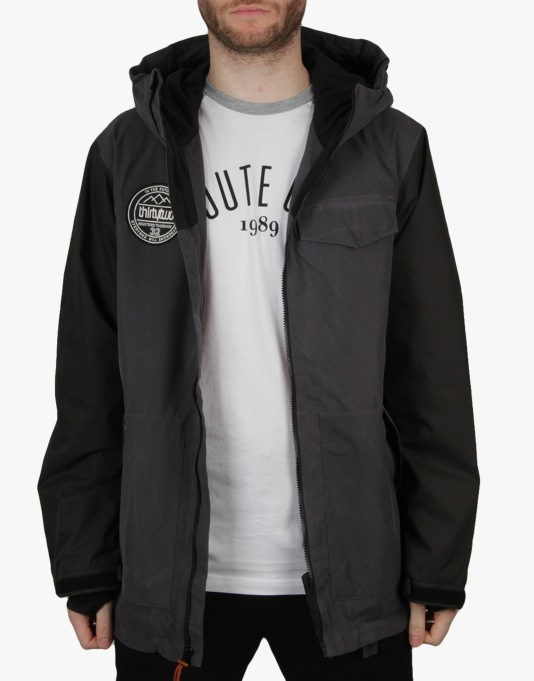 Thirty Two Sesh 2016 Snowboard Jacket - Stain Black