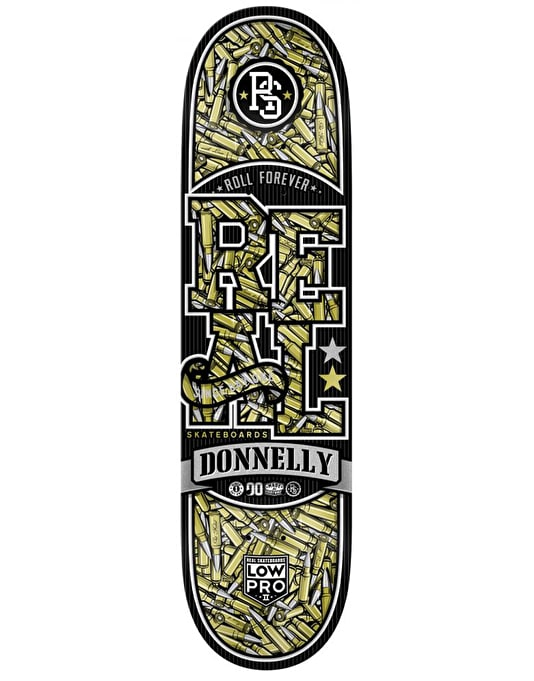 Real Donnelly Munition Low Pro II Pro Deck - 8.25""