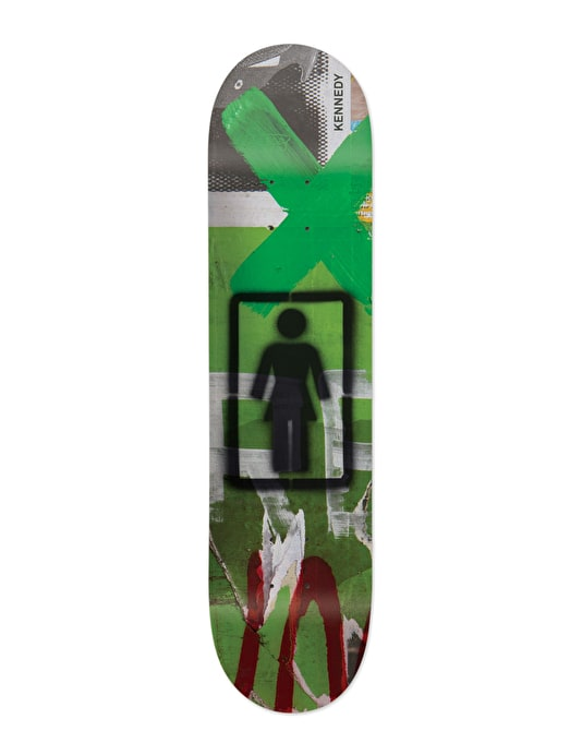 Girl Kennedy Post No Bills Pro Deck - 8""
