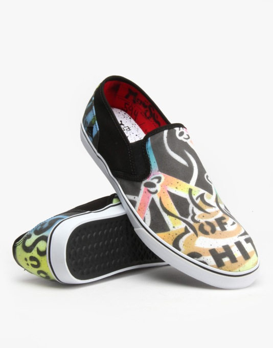 Emerica x Mouse Provost Cruiser Slip UK Exclusive Skate Shoe -  Peace