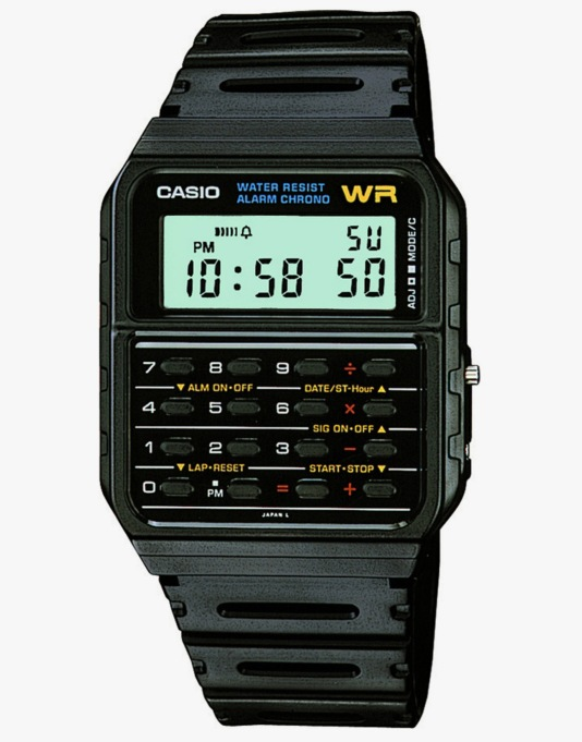 Casio CA-53W-1ER Watch - Black