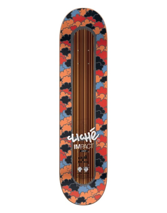 Cliché x Mr. Men Brezinski Mr. Busy Impact Light Pro Deck - 8""