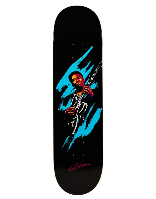 Primitive Skateboarding Salabanzi King of Blues Pro Deck - 8.25""