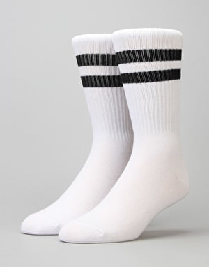 Carhartt College Socks - White/Black