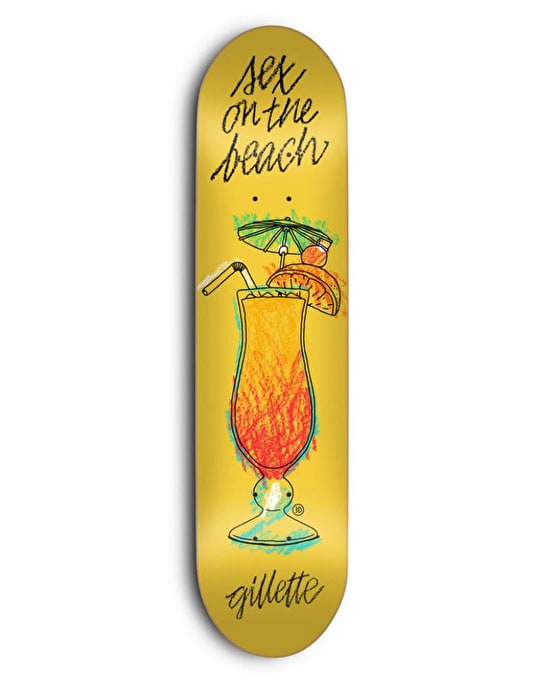 3D Gillette Sex on the Beach Pro Deck - 8.25""