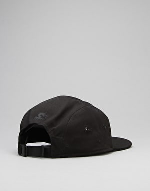 Carhartt Shore 5 Panel Cap - Black/White/Black