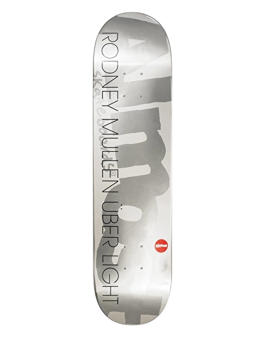 Almost Mullen Über Light Silver Ops Pro Deck - 8""