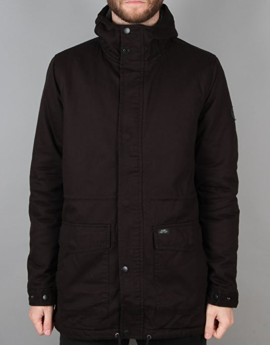 Globe Goodstock Fish Tale II Parka Jacket - Black