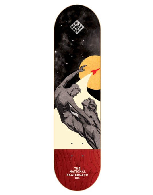 The National Skateboard Co. Infinite Team Deck - 8""