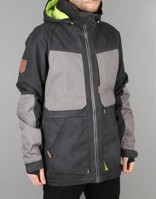 DC Kingdom 2016 Snowboard Jacket - Anthracite