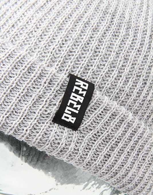 Rebel8 In Us We Trust Beanie - Heather Grey