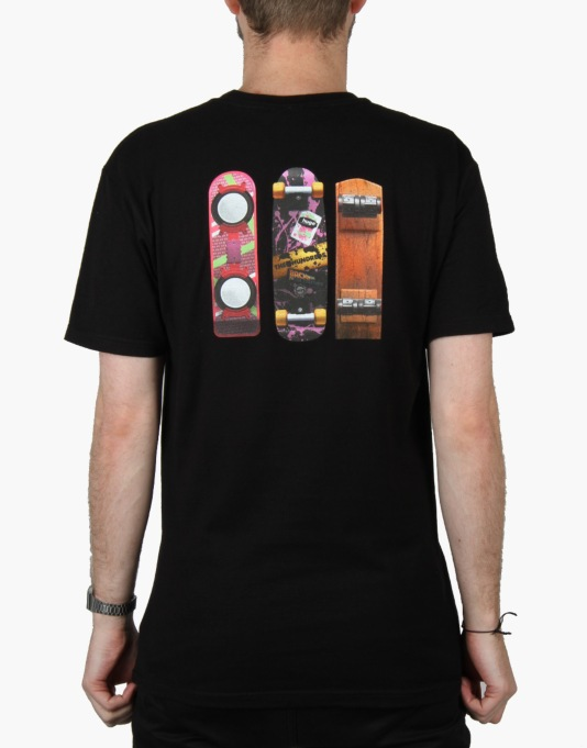 The Hundreds x Back to the Future Generations T-Shirt - Black