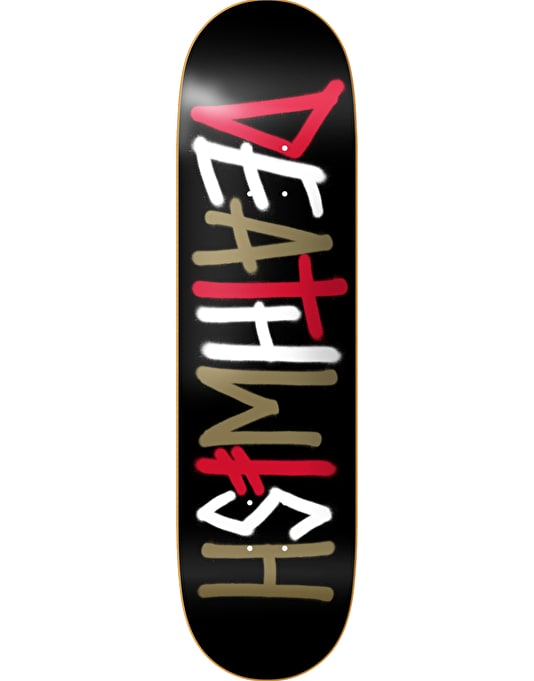 Deathwish Death Spray Multi Team Deck - 8.125""