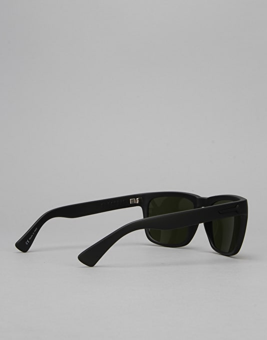 Electric Knoxville Sunglasses - Matte Black/Medium Grey