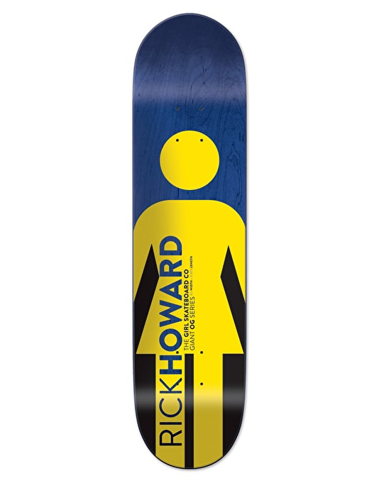 Girl Howard Giant OG Pro Deck - 8.5""