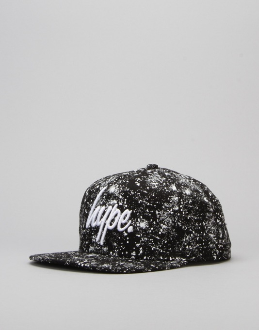 Hype Basic Snapback Cap - Black Speckle