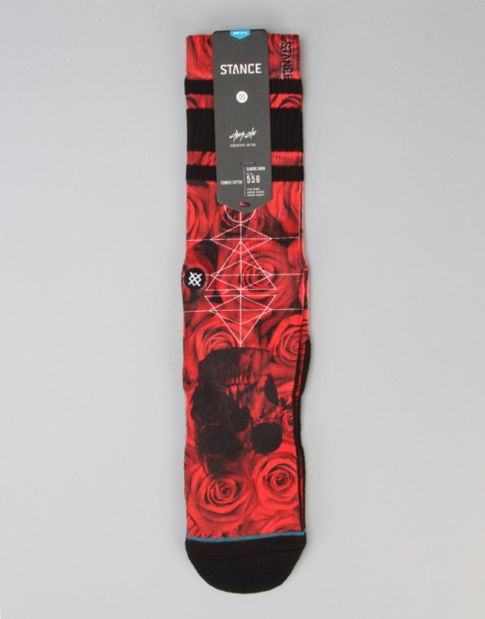 Stance Prowler Chris Cole Socks - Red