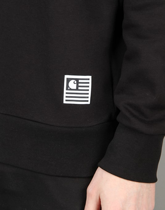 Carhartt State Flag Sweatshirt - Black/White
