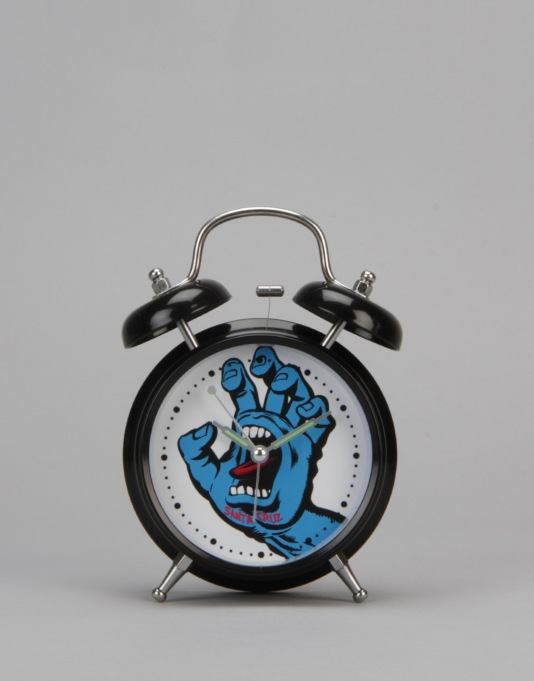 Santa Cruz Screaming Hand Alarm Clock - Black