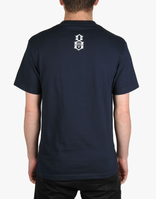 Rebel8 A.C.A.B T-Shirt - Navy