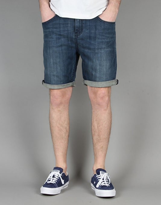 "Globe Goodstock Denim Walkshort 19"" - Stompwash"