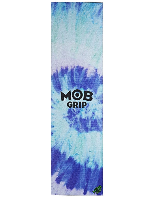 "MOB Tie Dye 9"" Graphic Grip Tape Sheet - Blue/Purple"