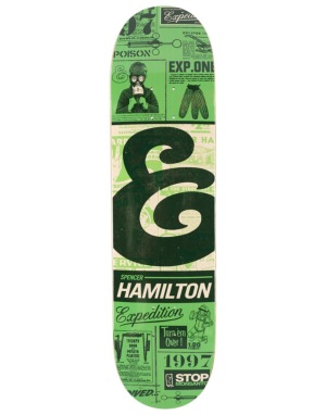 Expedition One Hamilton Classifieds Pro Deck - 8.06