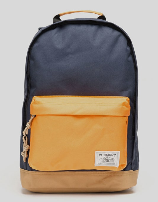 Element Beyond 2 Tone Blocks Backpack - Eclipse Navy/Oak Yellow