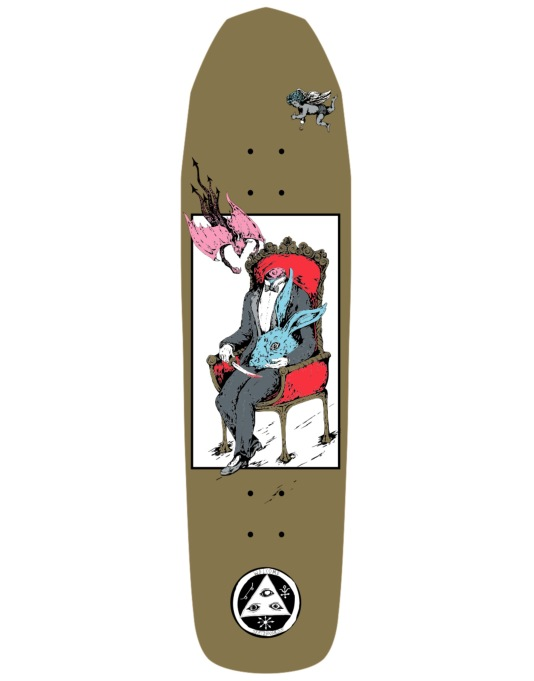 Welcome Self Portrait on Basilisk Team Deck - 8.8""