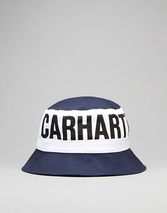 Carhartt Shore Bucket Hat - Blue/White/Black