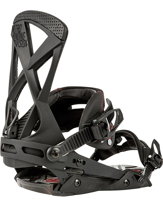 Nitro The Phantom 2016 Snowboard Bindings - Black