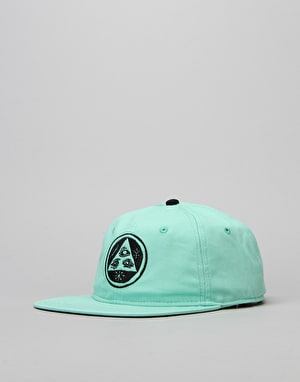 Welcome Talisman Unstructured Snapback Cap - Mint