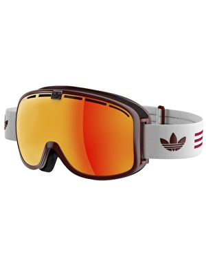 Adidas AH80 2016 Snowboard Goggles - Red Shiny/White Red